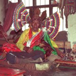 The late Padam, the great spirit medium of Lake Ngangtse