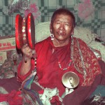 The late Khampai Pachung, one of Upper Tibet's great spirit mediums