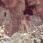 The retreat cave used by Lopon Tenzin Namdak in the 1950s, Gyer Ru Tsho