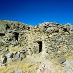 An ancient Bon island hermitage