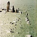 Walled-in pillars of Zhang Zhung