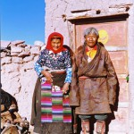 An elderly couple of Namru known for their profound local knowledge