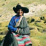 A female story teller and healer