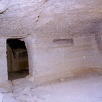 A habitational cave in Guge