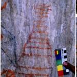 An early Bon stupa pictograph