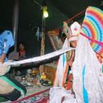 Undertaking a curative ritual