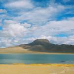 The Zhang Zhung mountain and lake of Tang Gung and Mating Tingmo