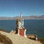 A shrine for the goddess of Lake Mapang
