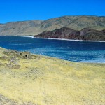 Frozen straits, ancient remains