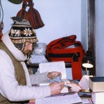 Working in winter of 2004 in Kathmandu