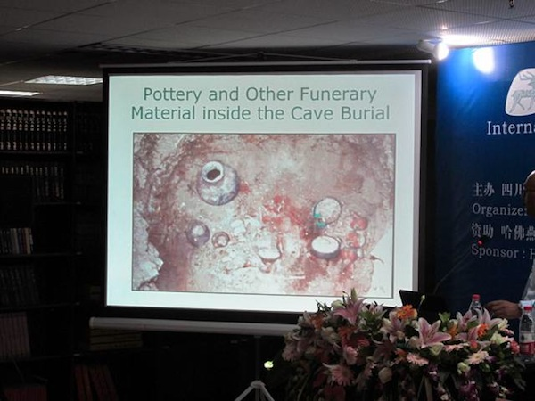 Fig. 4. The grave goods from a burial in Malari, Uttarakhand, India. From the presentation of Vinod Nautiyal