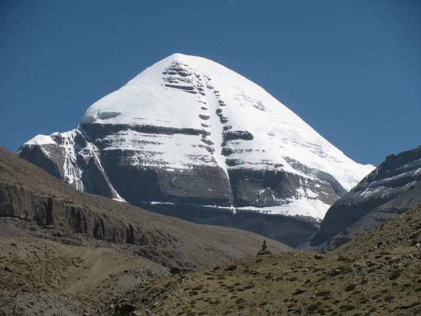 Fig.1. The crystal southern face of holy Mount Kailas