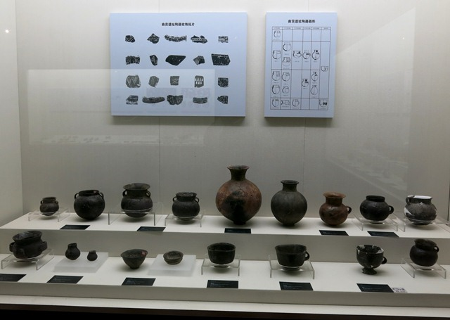 Fig. 68. A collection of ceramic from the Chugong site near Lhasa. Late Neolithic (4000–3500 BP). Tibet Museum collection.