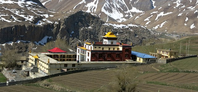 Fig. 22. Urgyen Sangngak Choeling monastery in the Pin valley.