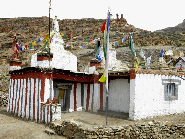 Fig. 23. The ancient monastery of Gonchung Tashigang Kyil in Tashigang village.