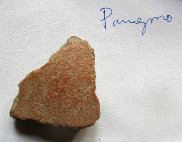 Fig. 59. Ceramic fragment collected in Pangmo (sPang-mo) village.