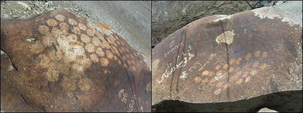 Fig. 10. Patches of circles at Kharool. [T. Ldawa]