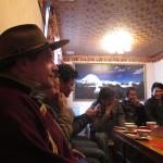 A scholars' dinner, Lhasa, 2012