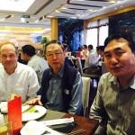 John with Samten Karmay, Beijing, 2015